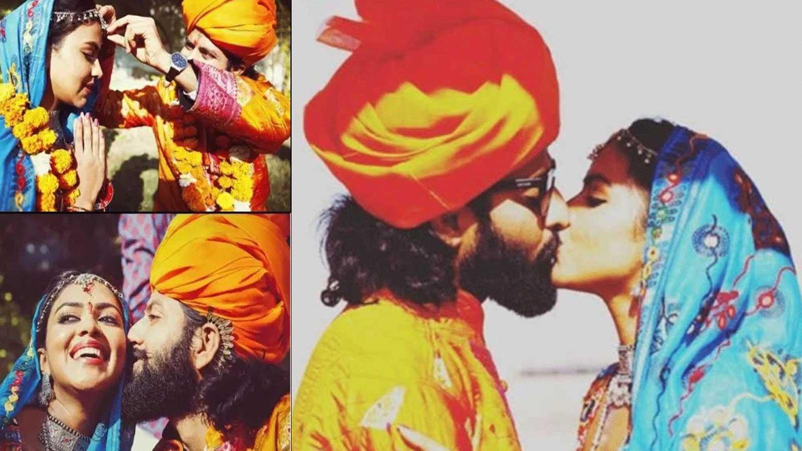 amala paul with bhavninder singh