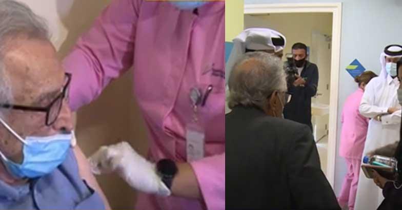 covid vaccine qatar | big news live