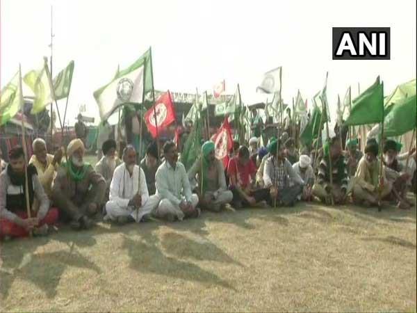 farmers protest   big news live
