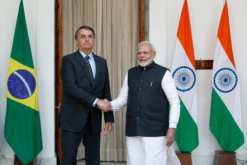 modi and bolsonaro