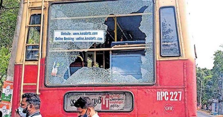 bus attacked | Bignewslive